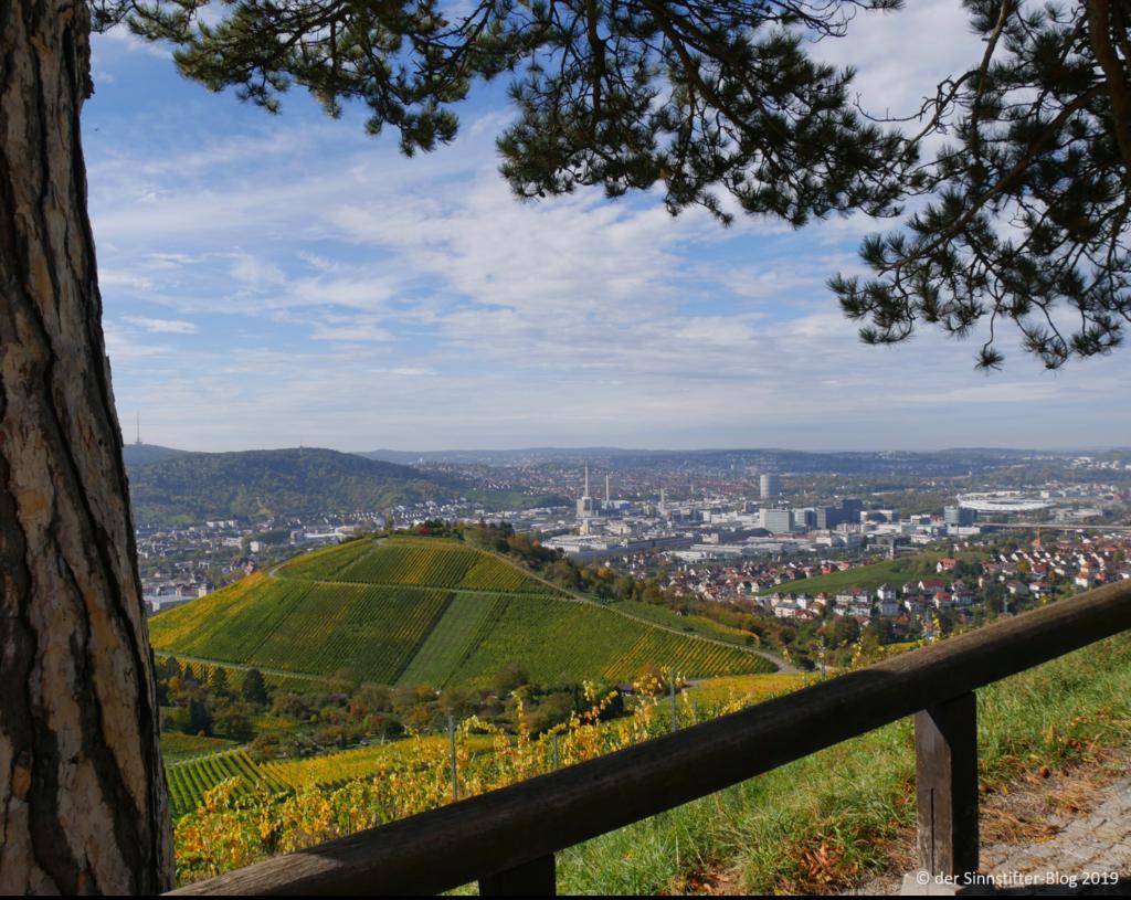 Aussicht auf Stuttgart