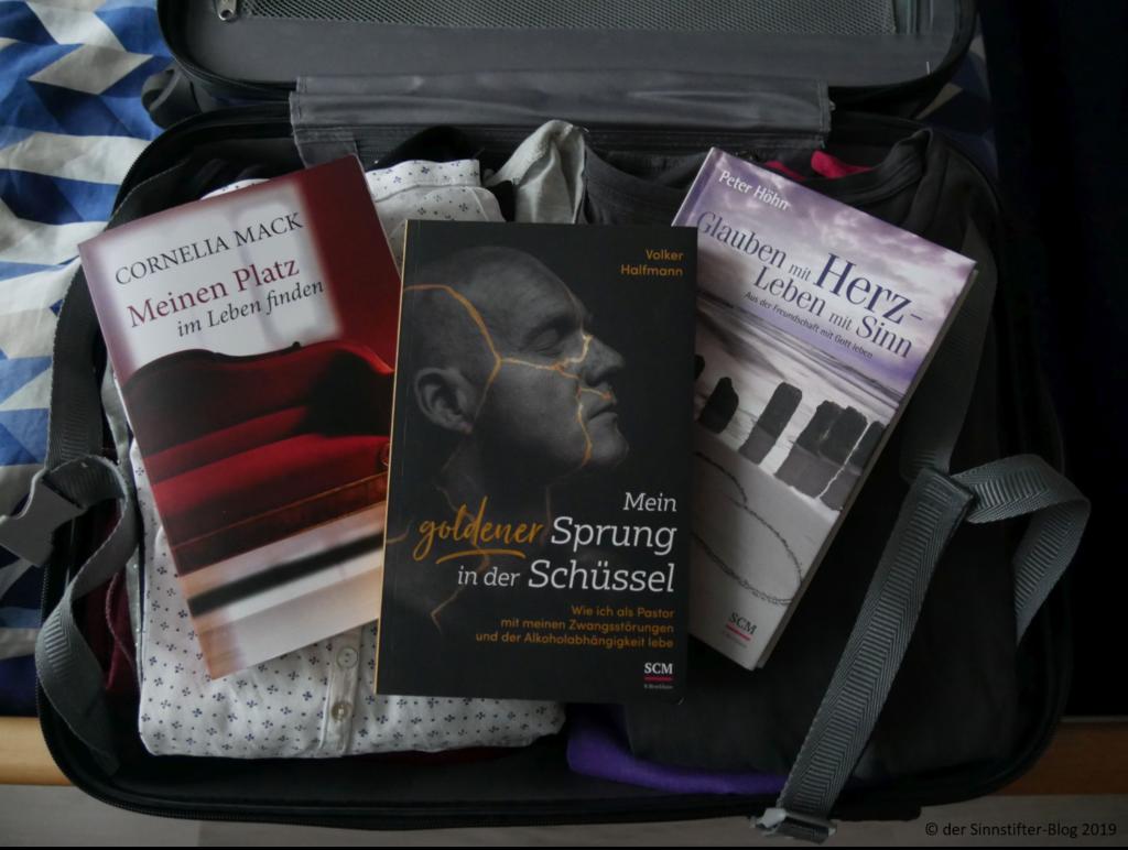 Koffer mit Büchern