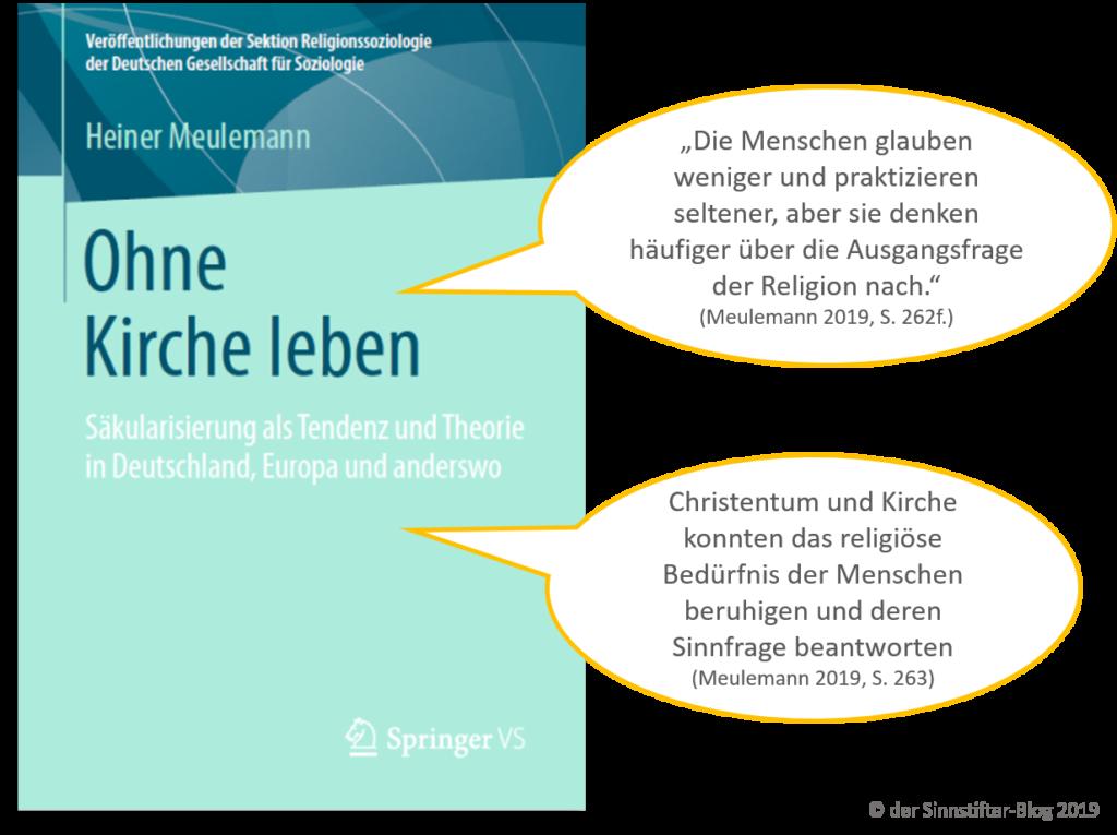 Ohne Kirche Leben - Meulemann 2019