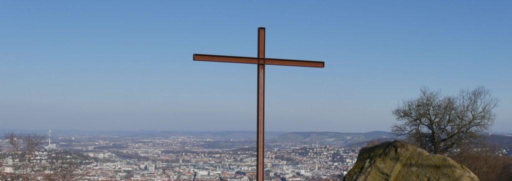 Kreuz auf Monte Scherbelino