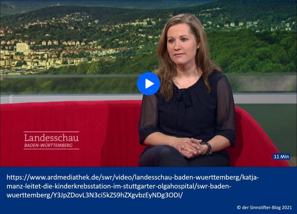 Bericht über Katja im Fernsehen